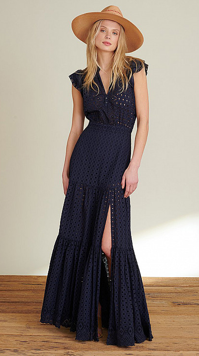 Veronica Beard Satori Maxi Dress