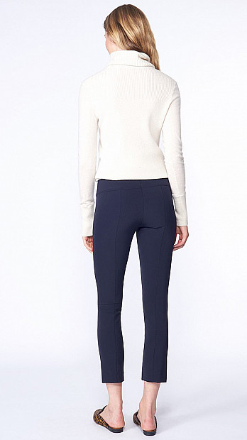 Veronica Beard Scuba Pant Navy