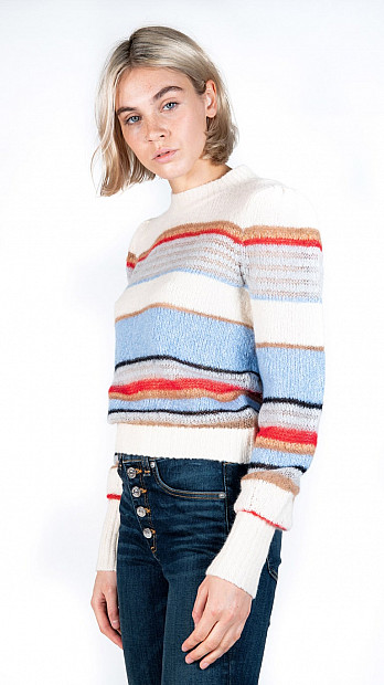 Veronica Beard Meredith Pullover Multi